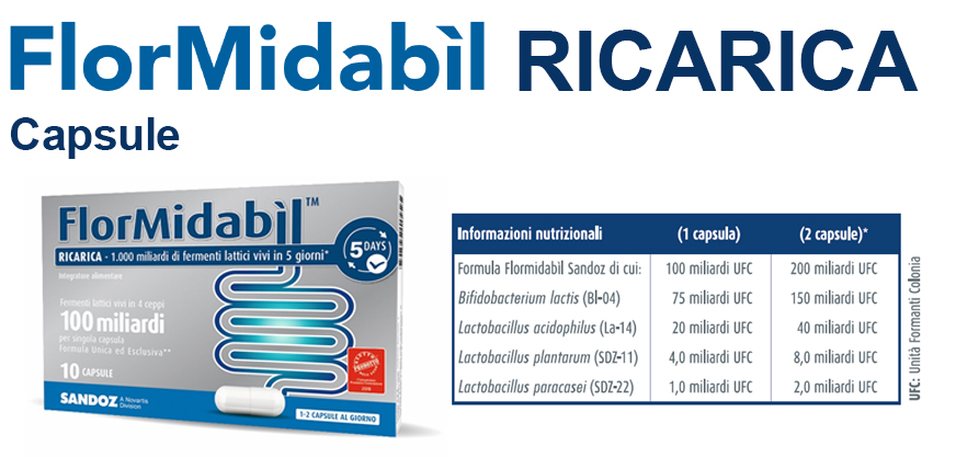 Flormidabìl RICARICA capsule
